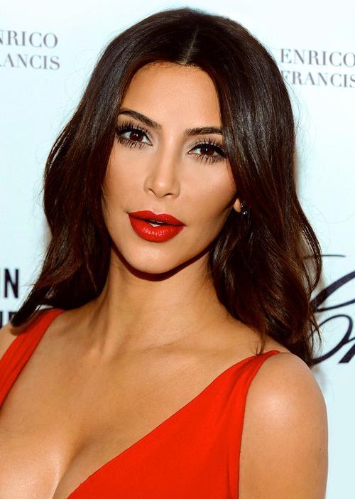 red lip k